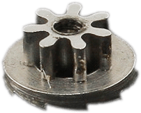 Upper automatic clutch pinion