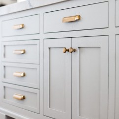 Brass Kitchen Hardware Kitchens Painted Orange Bronze Chrome And Stainless Everything You Need To Know Unlacquered Cabinet Jpg
