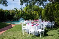 Vibrant Fiesta Backyard Wedding Reception  WOTP