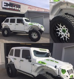 white custom jeep wrangler 3 [ 1000 x 1000 Pixel ]