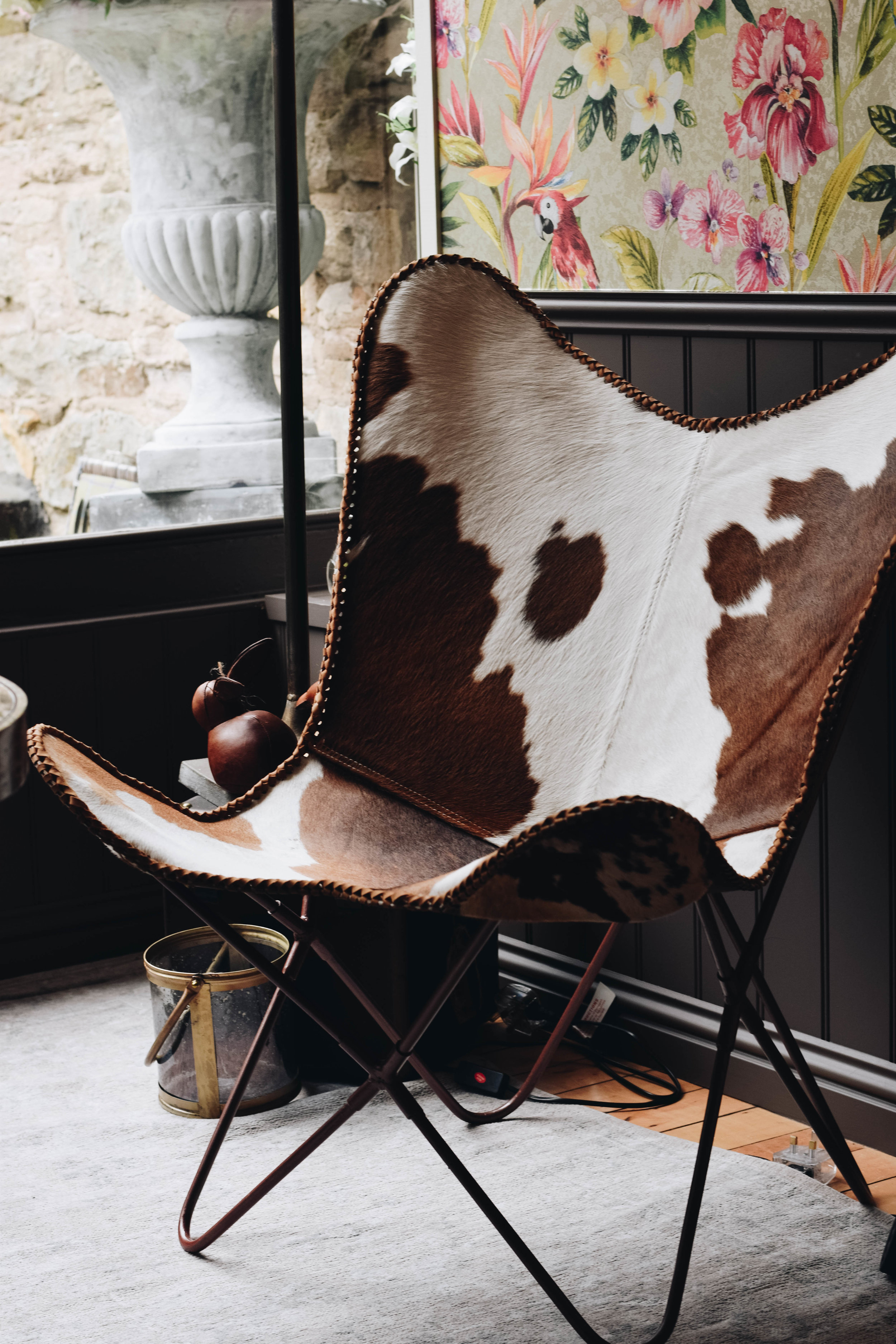 Cow Hide Chair Butterfly Chair Cow Hide