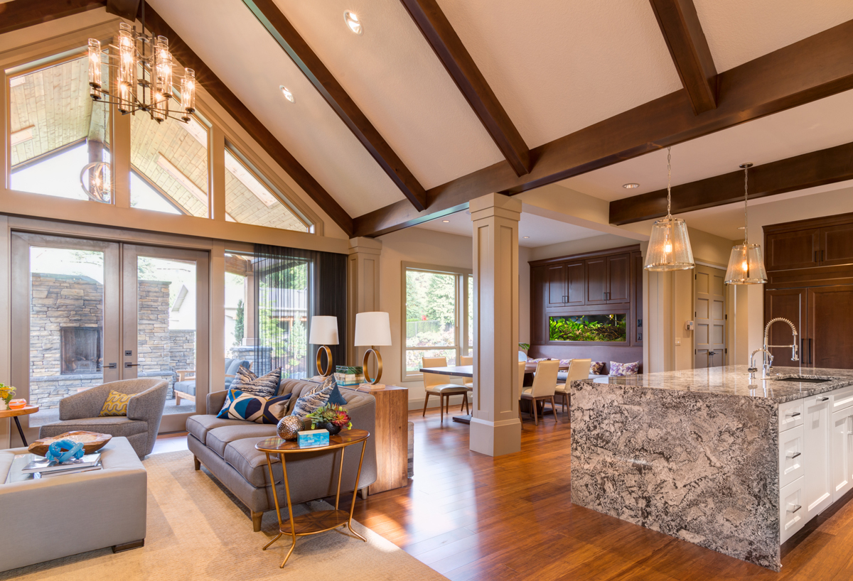 lighting ideas for living room high ceiling small grey and black a with light my nest space vaulted
