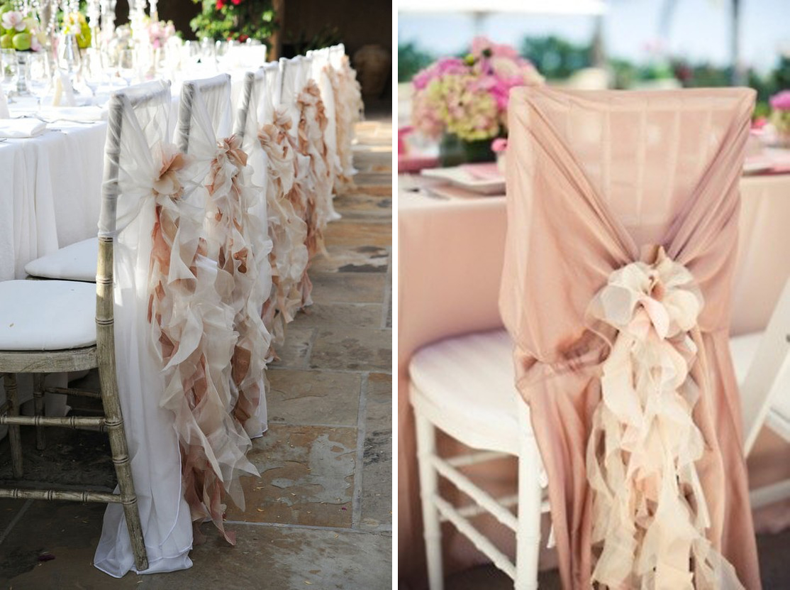 elegant chair covers for wedding high wooden legs beautiful cover options trendy bride fine art blog a great time to really show your taste or personality as couple and one way dress up the decor table settings is by using