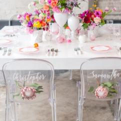 Ghost Chairs Salon Styling Wedding Trendy Bride Fine Art Blog For Reception And Ceremony 8