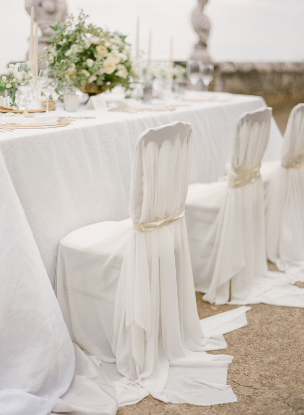 chair cover decorations for wedding metal dining ideas part ii trendy bride fine art blog you can take an antique with interesting back and it white fabric from top to bottom tie ivory ribbon a seamless
