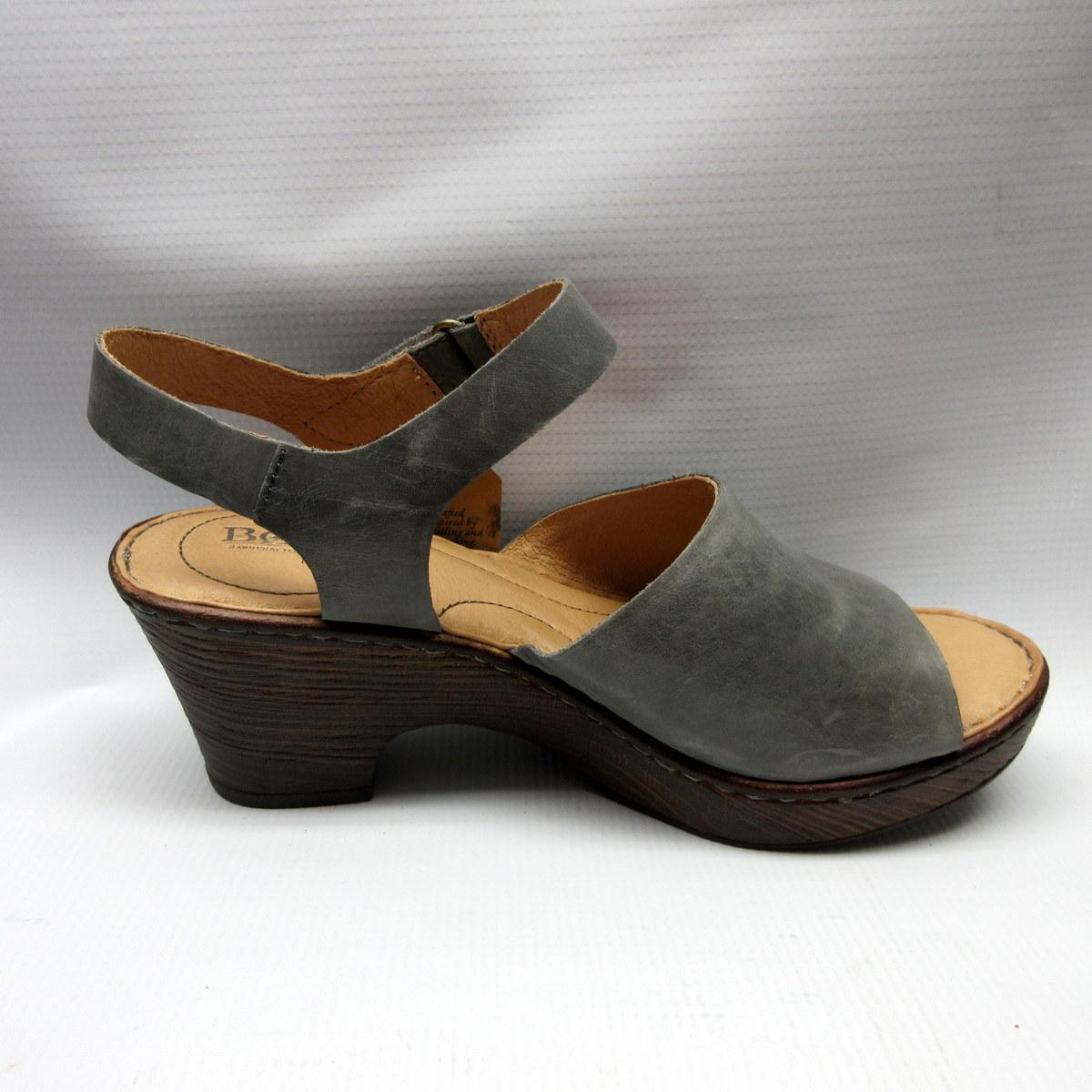 181887379 Born Sandals Women Canna In Grey Cabaline
