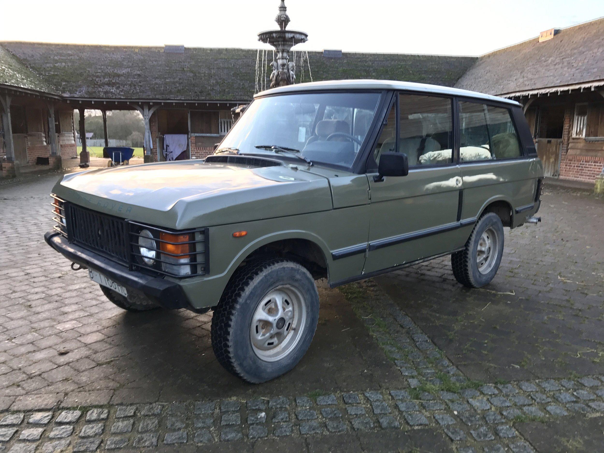 Range Rover 2 Door 1986 SOLD — Samuel Lloyd & Co
