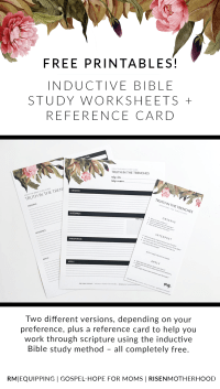 Worksheets. Inductive Bible Study Worksheet. waytoohuman ...