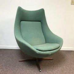 Mid Century Egg Chair Gym Ball Desk Hw Klein For Bramin Danish Ardesh