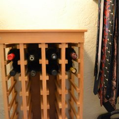 Can You Put A Wine Rack In Living Room Big Rugs For Build Your Own Closet Late Harvest The Rest Of Project Is Fairly Self Explanatory Here Are Details Total Time 1 Hour Cost 25 Without