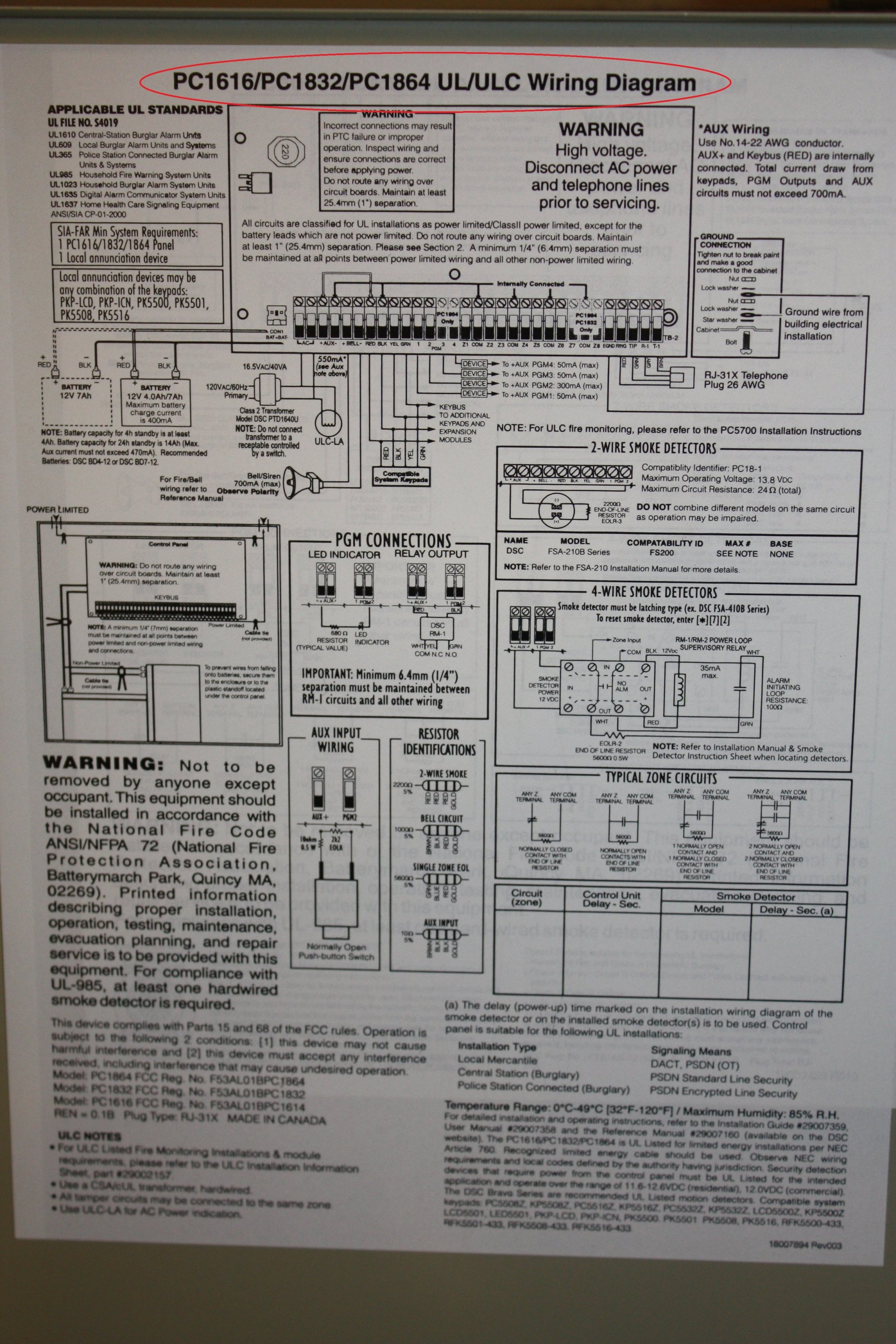 hight resolution of 5501 dsc fixed english nca alarms nashville wiring diagram nca schematic for the 5501 dsc fixed