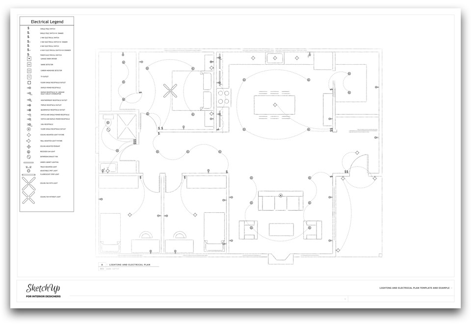 Electrical Floor Plan Legend