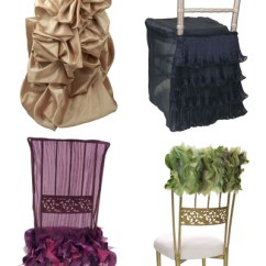 Fancy Chair Covers Black Folding Sassy Wild Flower Linens One Fine Day Events Or Even To Distinguish The Bride And Groom S Chairs Here Are Few Tickle Your You Can View Entire Collection On Site