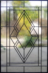Craftsman Stained Glass Design  Legacy Glass