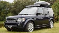Land Rover LR4 Voyager Rock Sliders with Step  Voyager Racks