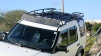 Land Rover LR4 Flat Voyager Wind Fairing  Voyager Racks