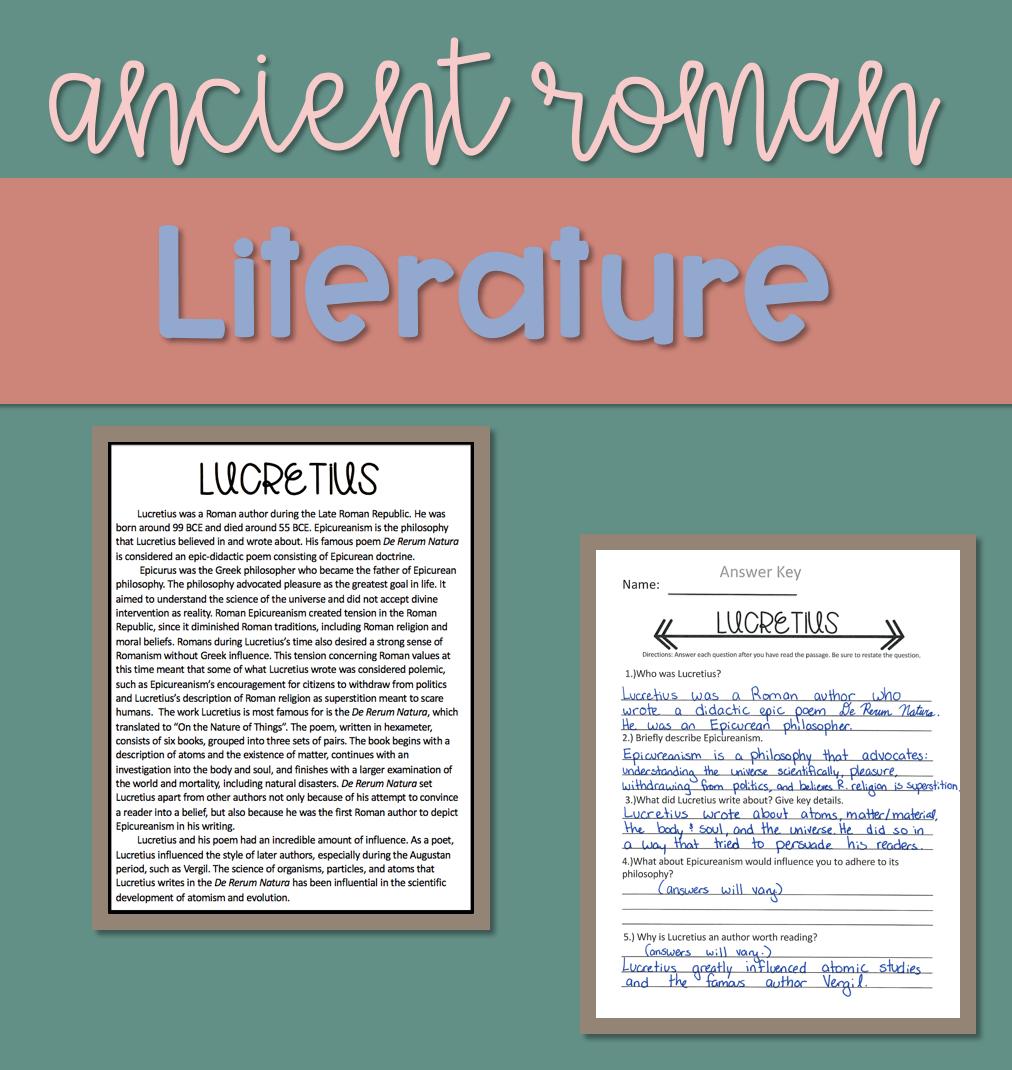 Ancient Roman Literature in the Latin Classroom — Amy Skillicorn [ 1070 x 1012 Pixel ]
