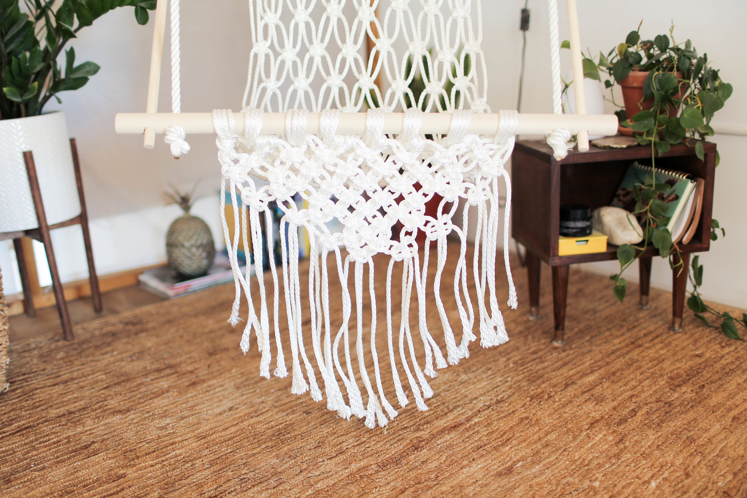 how to make a hanging chair covers pier one diy macrame the sorry girls if you be sure send us photo on instagram thesorrygirls using hashtag sorrygirlssquad also check out video below for