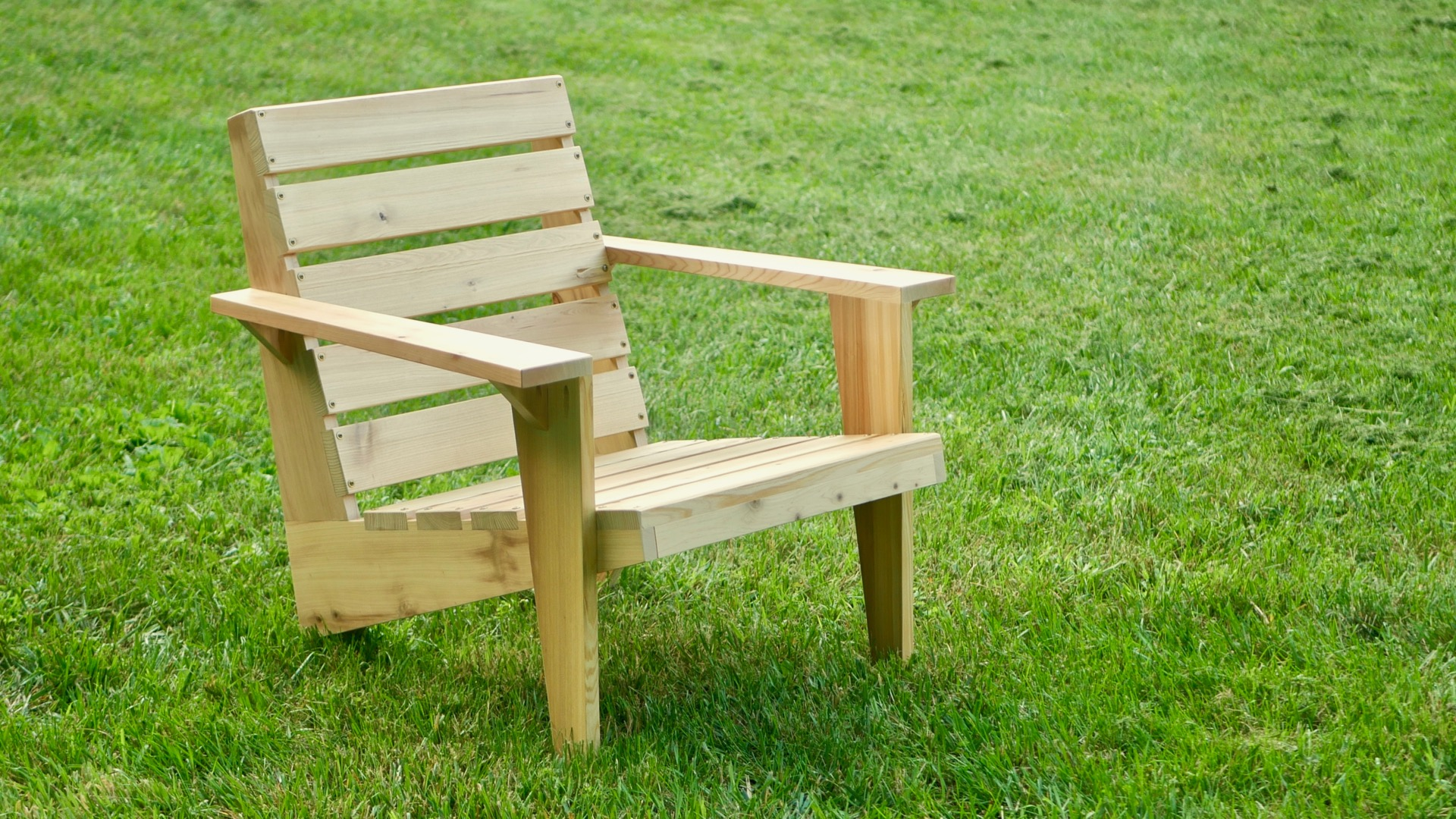 modern adirondack chair dining seat cover fabric how to build a diy crafted workshop