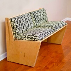 How To Make A Plywood Chair Toddler Plastic Build Diy Modern Sofa Using 1 Sheet Of