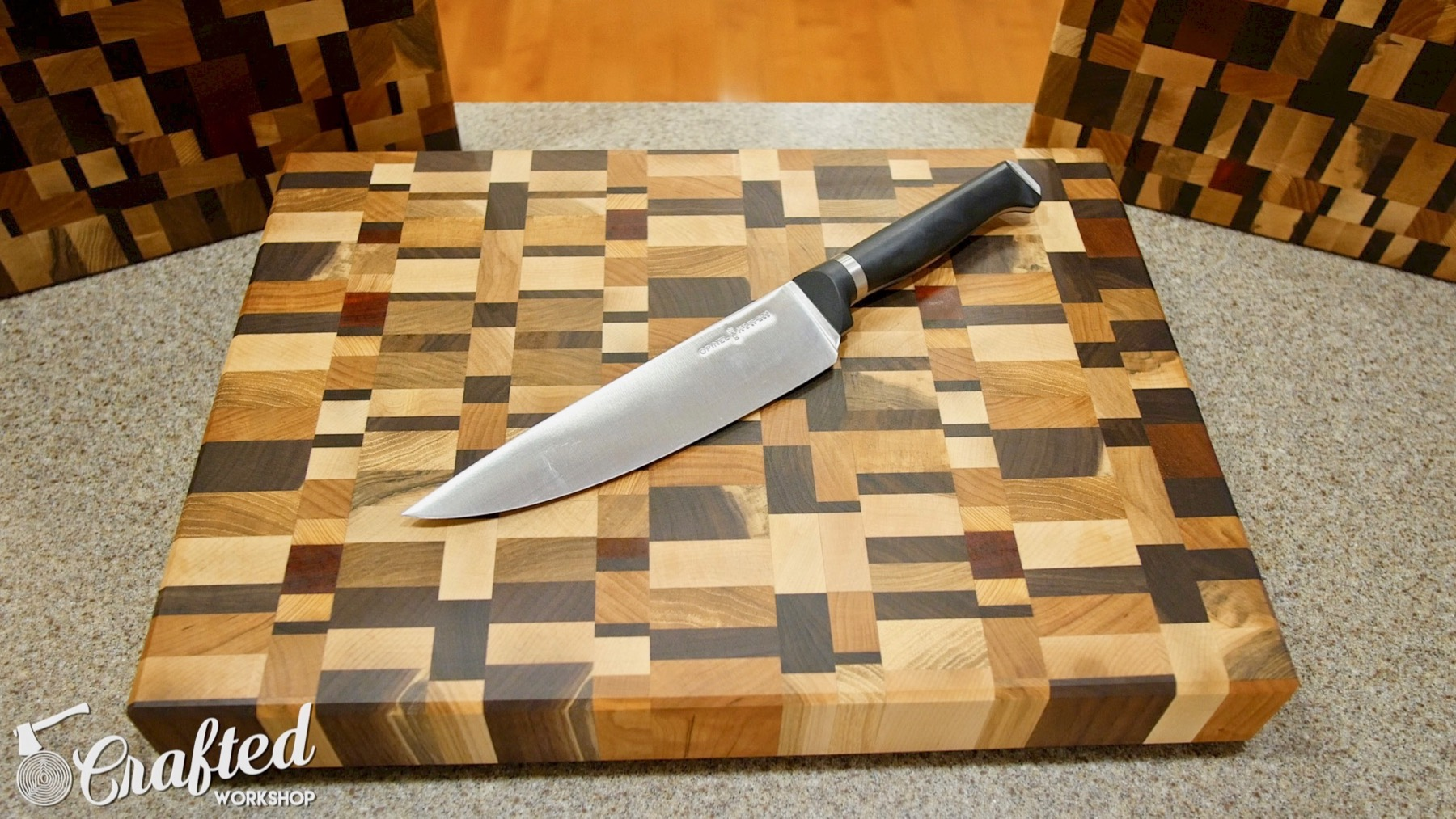 How To Make An End Grain Cutting Board Without A Planer