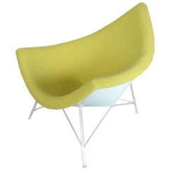 Chair Design Icons Mid Century Rocking Michigan The Nelson Coconut Lounge Tom Gibbs Studio