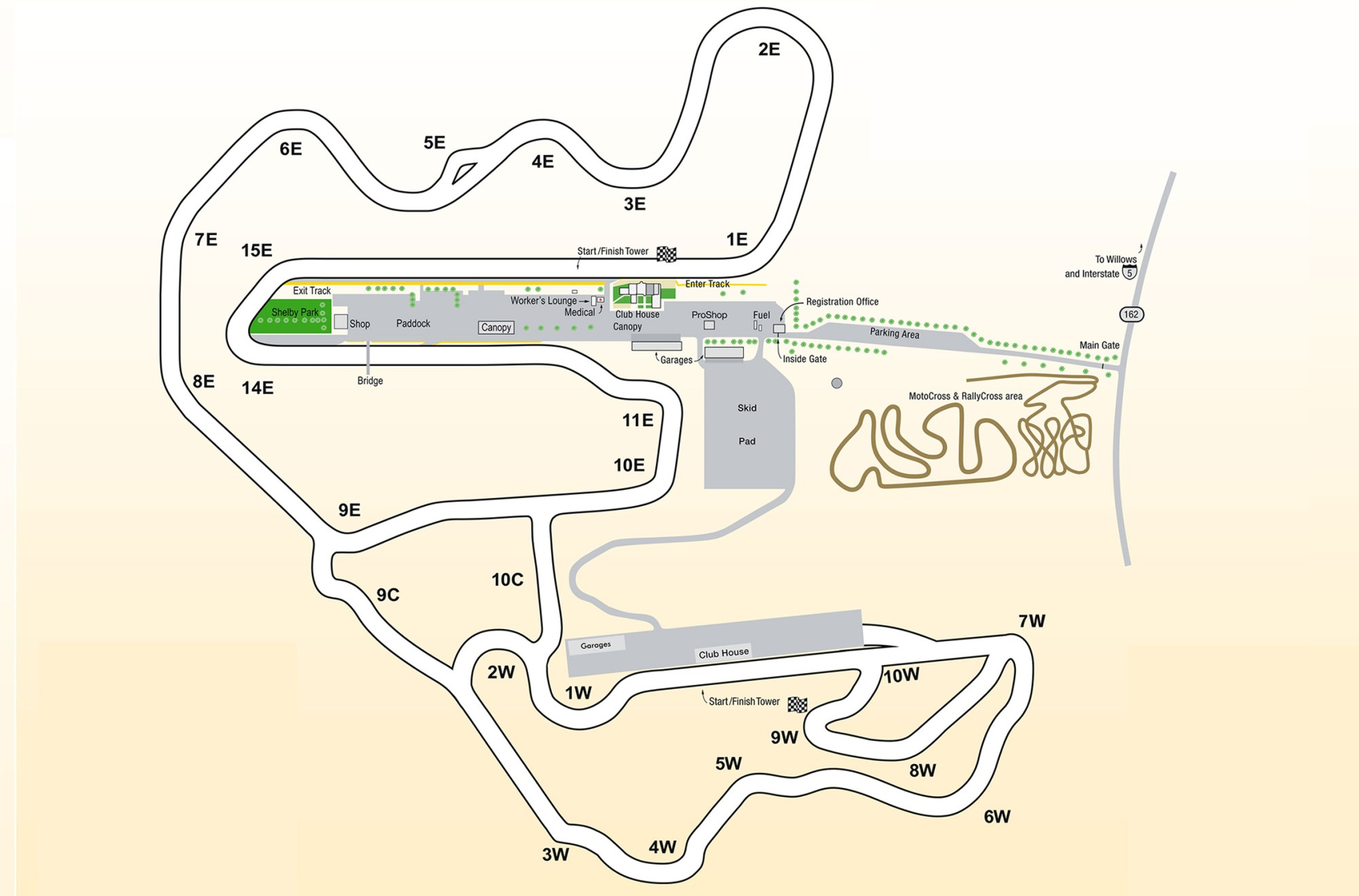 hight resolution of topic thunderhill 5 mile track map
