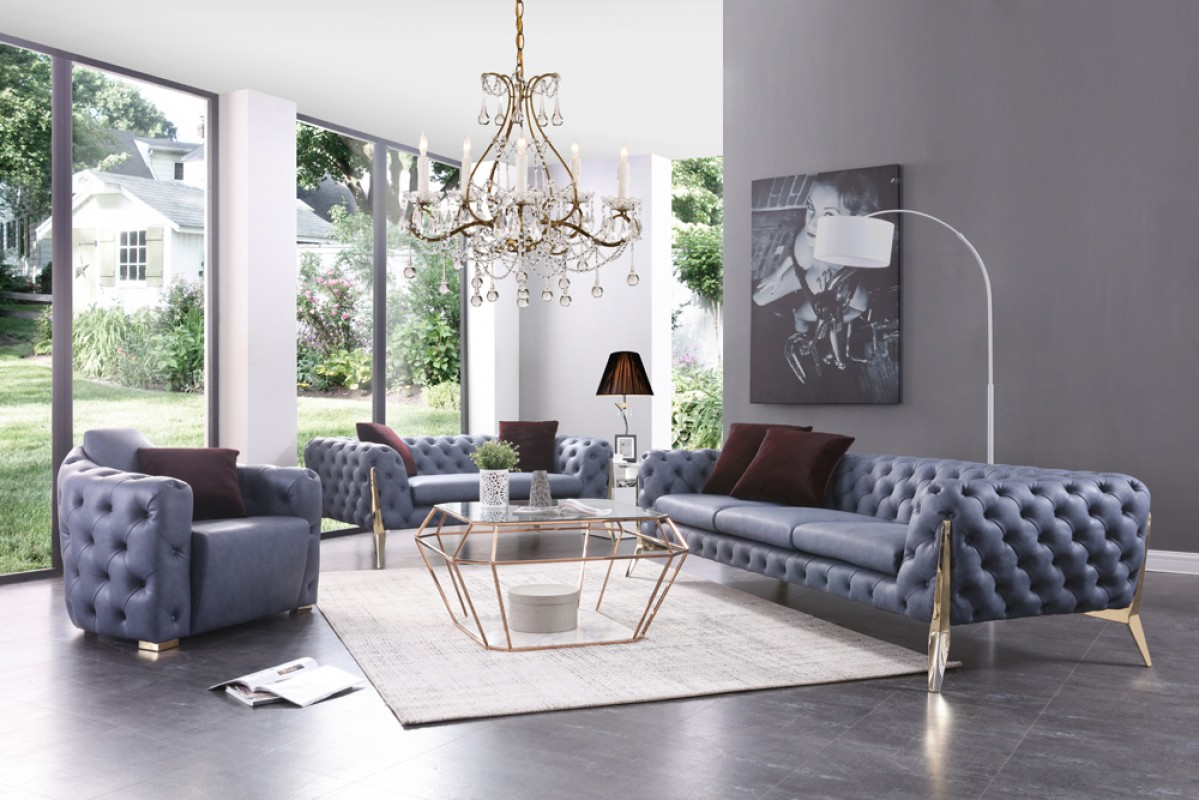blue fl sofa american style sets italian set decodesign furniture store