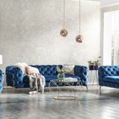 Blue Fl Sofa Wall Color Taupe Dark Fabric Set Decodesign Furniture Store