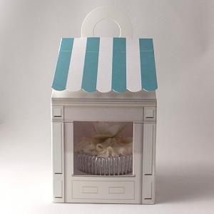 Baking Range Cupcake Boxes For 1 Cupcake Cupcake Shop Design