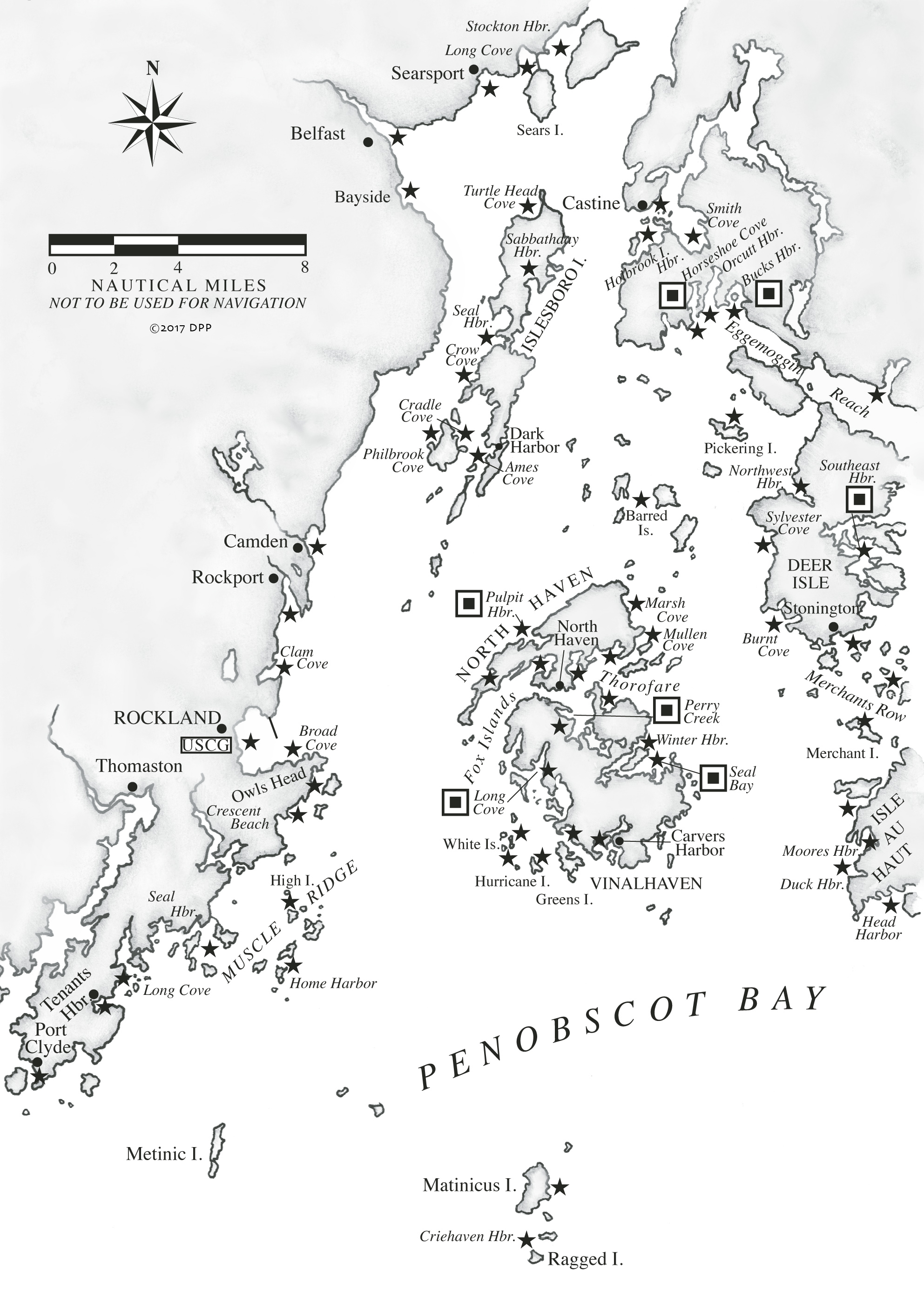 Penobscot Bay — A Cruising Guide to the MAINE COAST