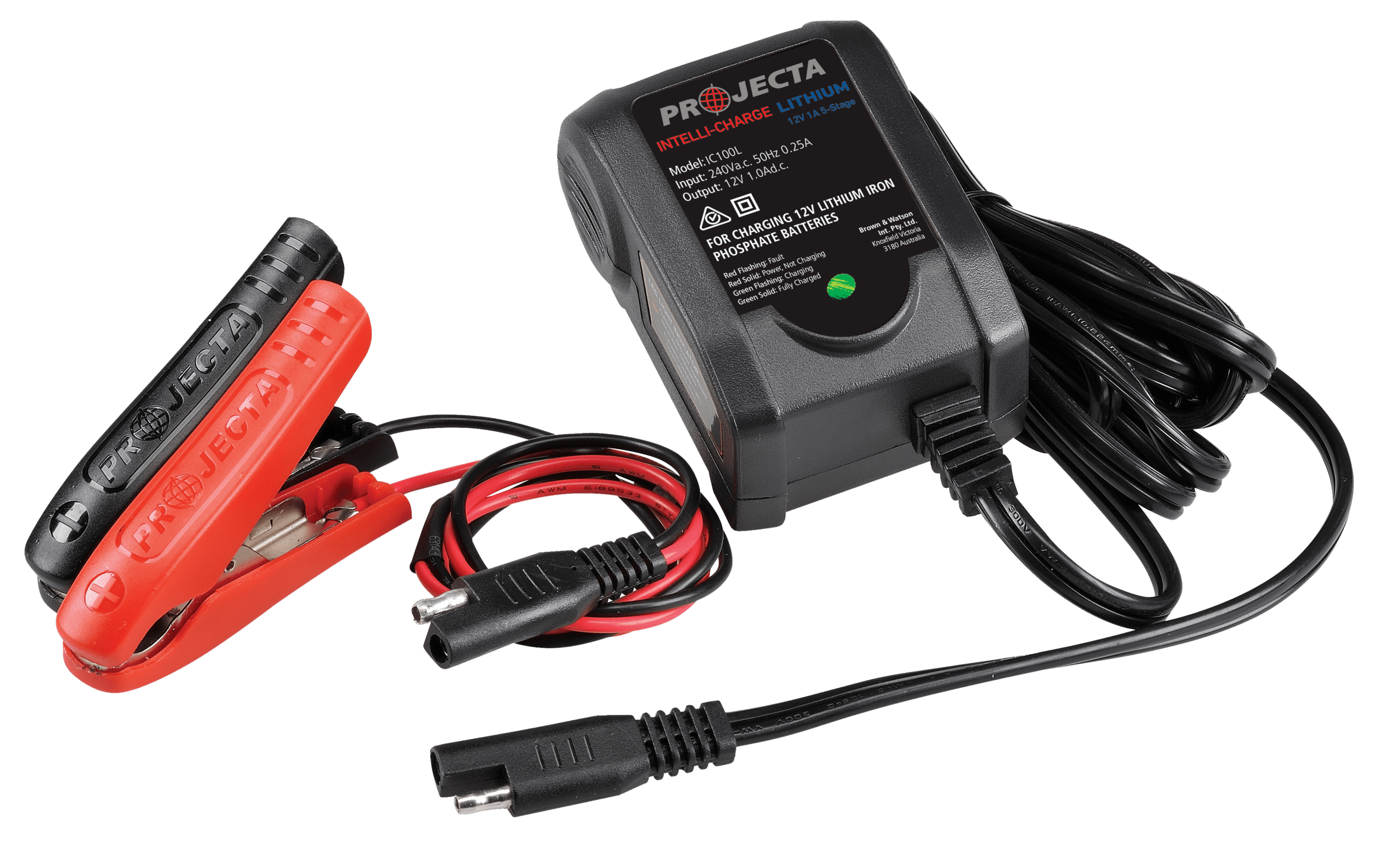 medium resolution of projecta completes lithium intelli charge range with compact ic100l