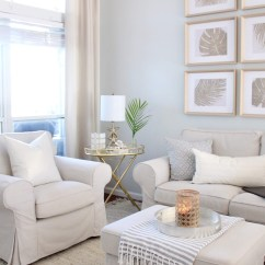 Coastal Design Living Room Stadium Seating Couches Styling My For Winter House Full Of Summer Decor