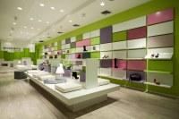 Shoebox NY Shoe Store, Retail Store Design