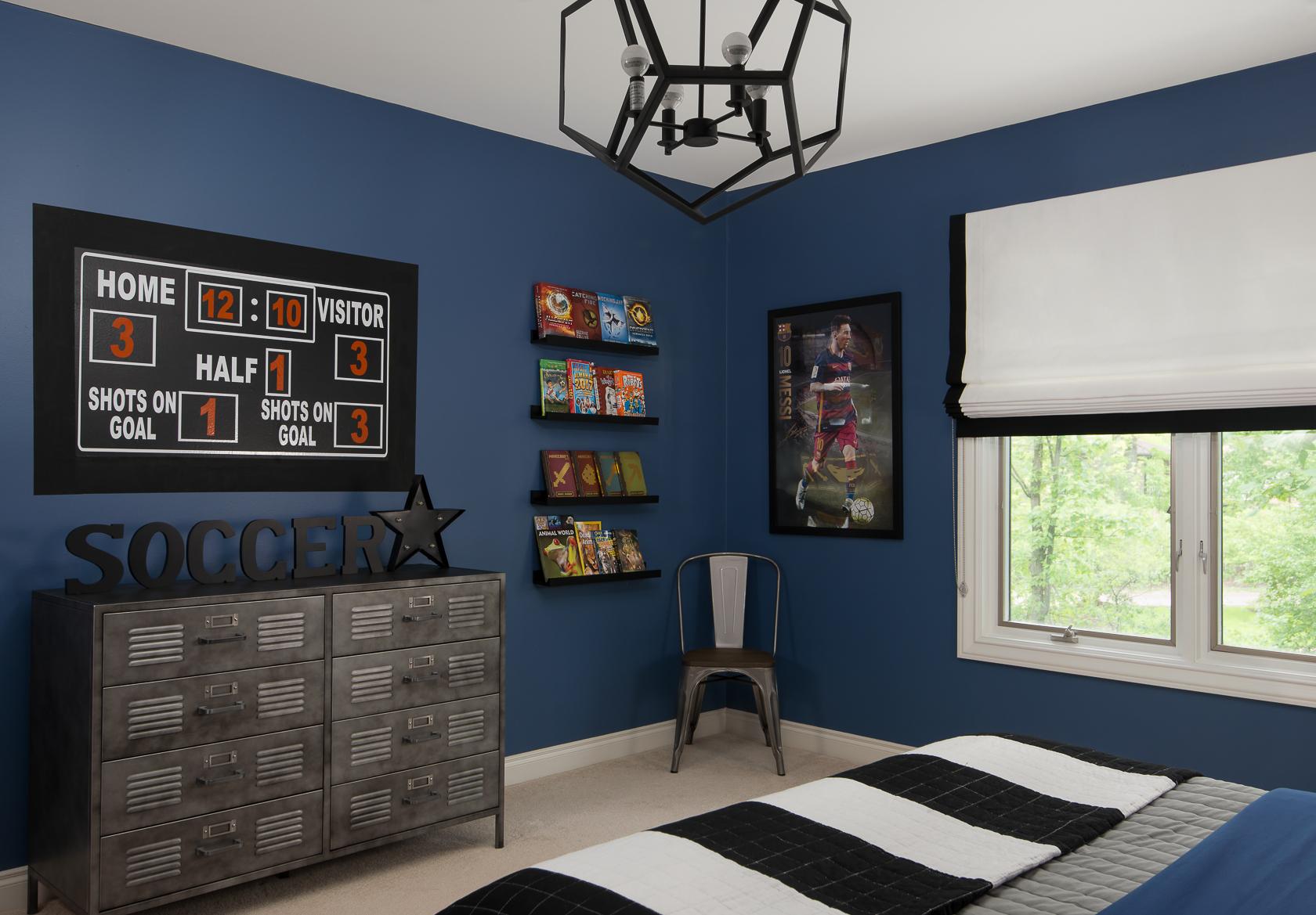 Soccer Themed Bedroom  Decor For Kids