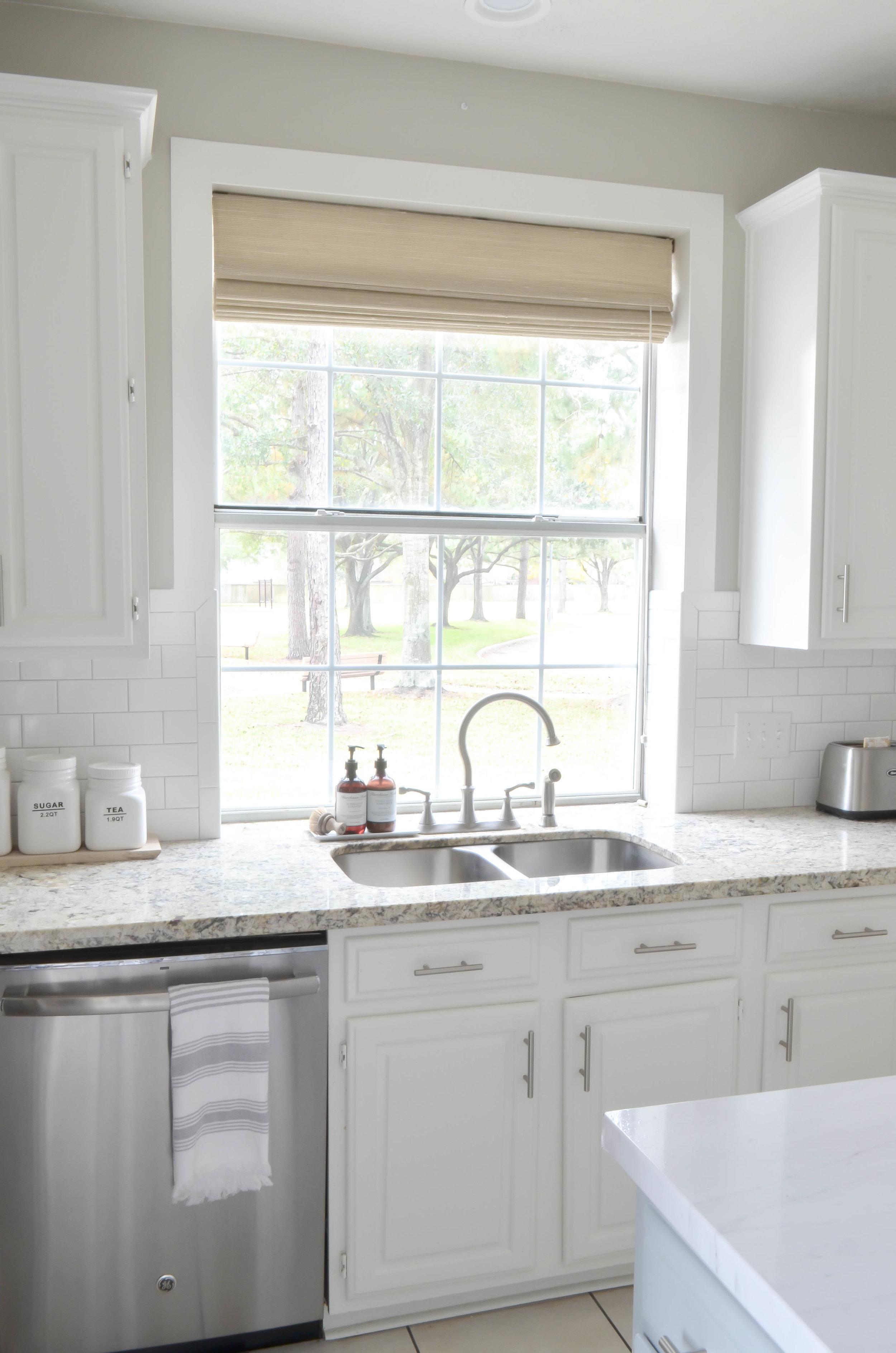 kitchen trim light oak cabinets the easiest diy window for 15 julie warnock interiors