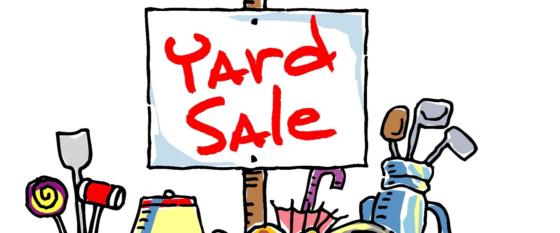 hight resolution of yard sale
