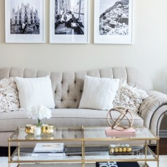 Decor For Living Rooms Create Your Own Room Set Tour White Beige Gold H A N