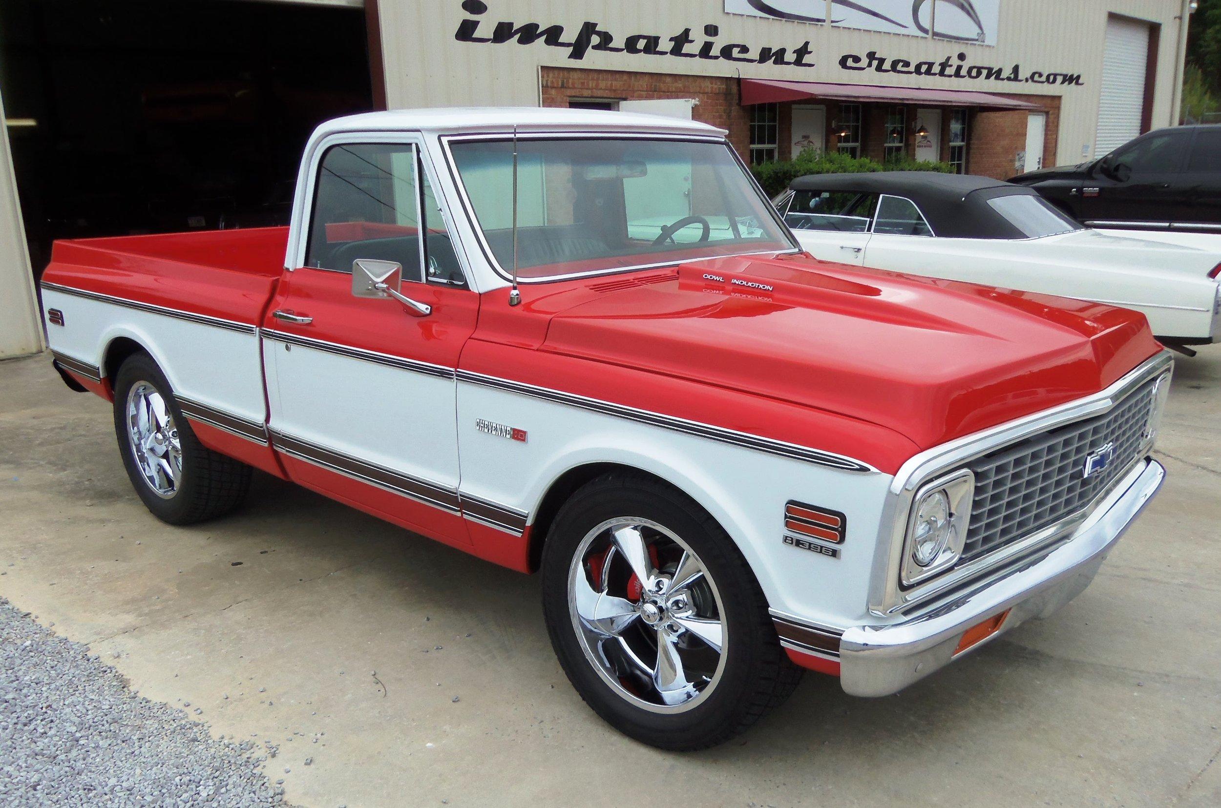 1971 chevy pickup [ 1500 x 993 Pixel ]
