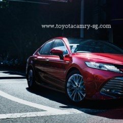 All New Camry Singapore Kijang Innova 2016 Toyota Hybrid 2019 30yrs Anniversary Package Red