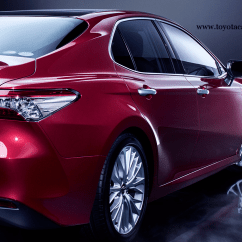 All New Camry Singapore Perbedaan Grand Avanza Dengan Veloz Toyota Hybrid 2019 30yrs Anniversary Package Red Rear View