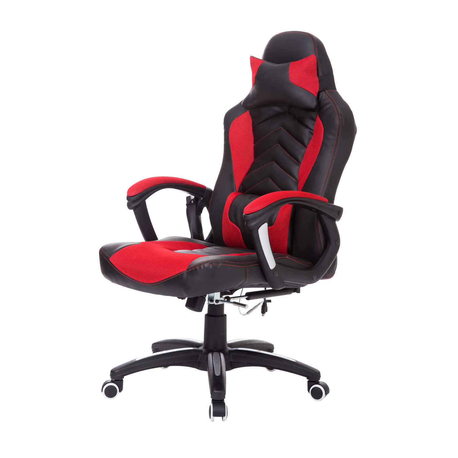 Massage Office Chair Homcom Racing Style Electric Massage Office Chair Black Red