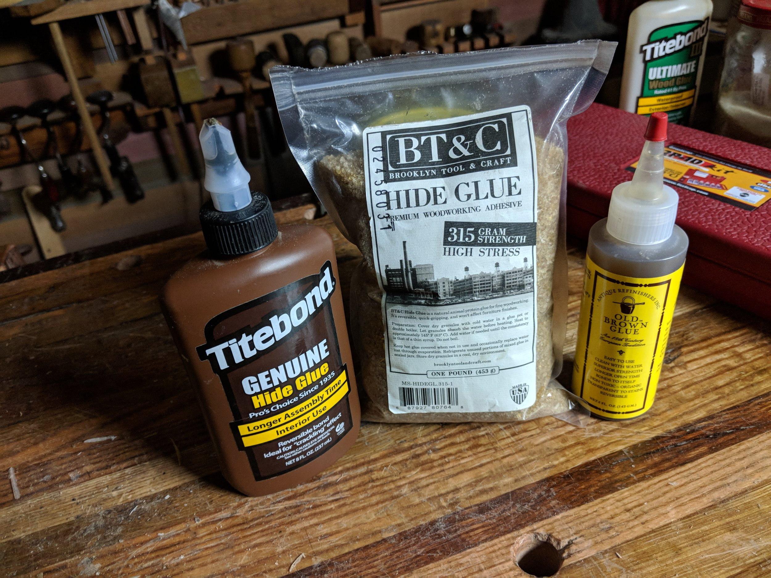 Liquid Hide Glue