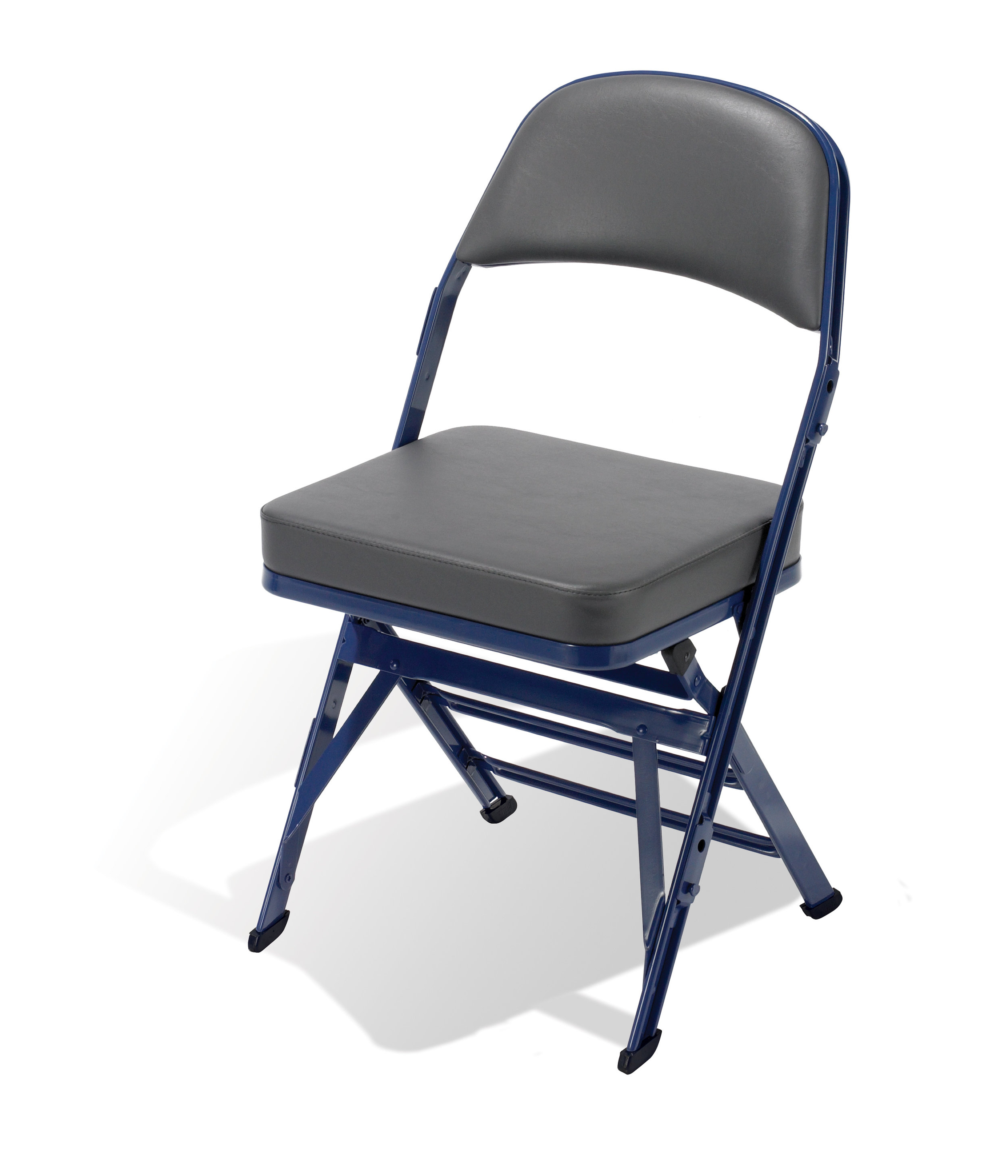 high folding chair acrylic dining chairs nz 4400 portable for any venue clarin seating the most popular arenas that require capacity model features a thicker padded seat to keep spectators in