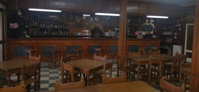 Zona de bar y barra del Restaurante