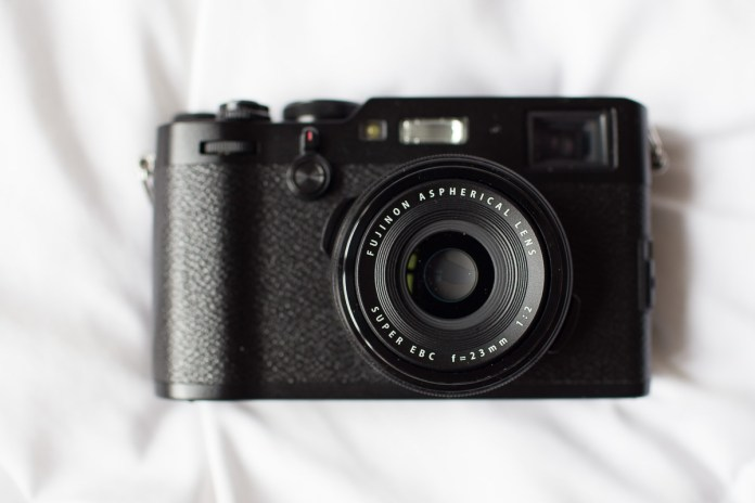 Fuji X100F product shot. Canon 6D, Canon 35mm f/1.4