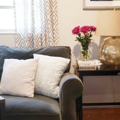 Small Living Room With No Coffee Table Corner Cabinet You Really Don T Need A In Your Jenna Kid Friendly Refined Modern Farmhouse Grays White