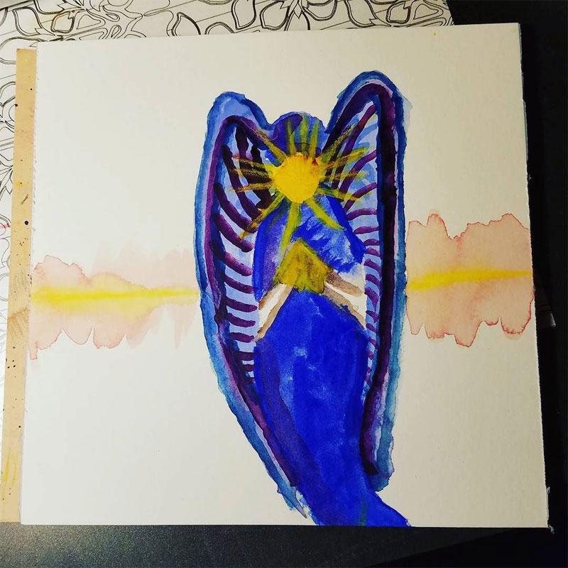 Energy Angel Art