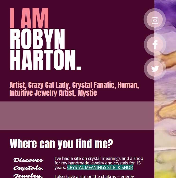 I Am Robyn Harton