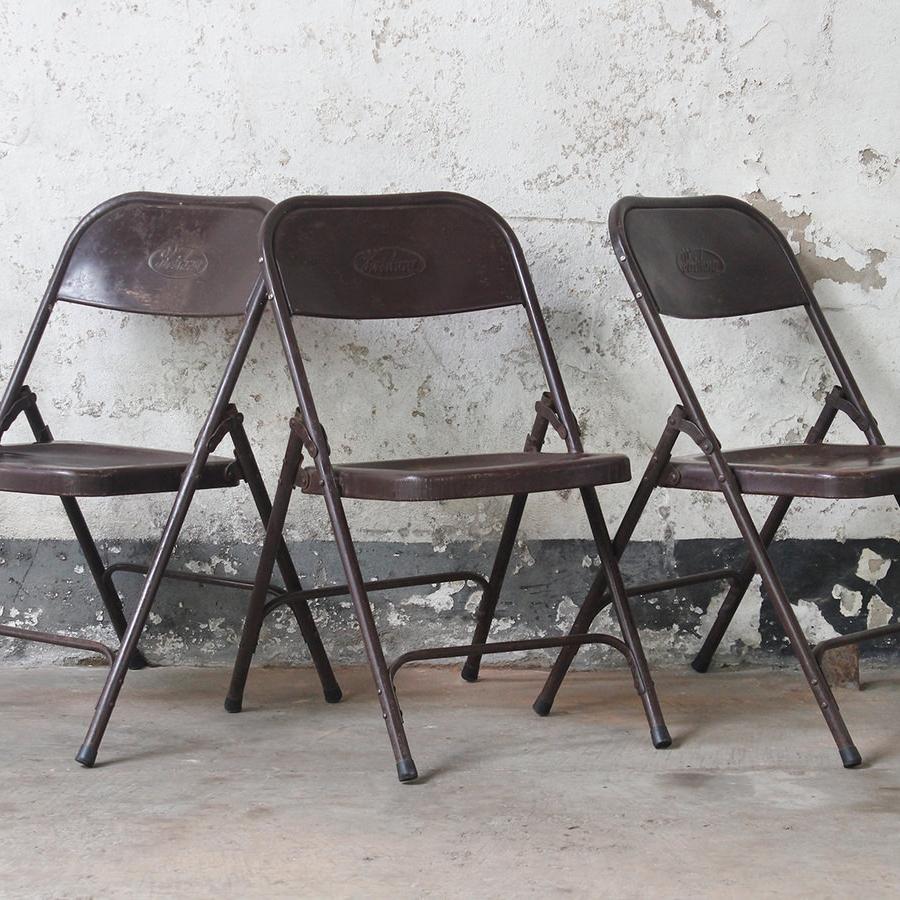 big folding chairs rocking chair for two ww yard sale rental three doors vintage
